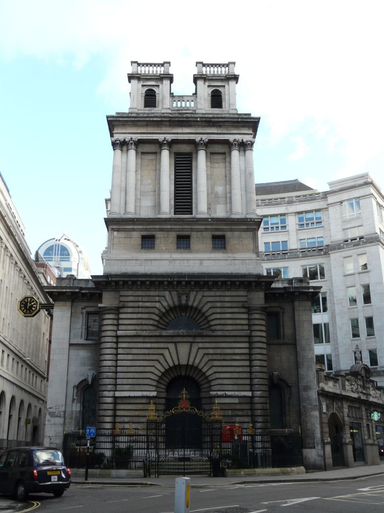 St Mary Woolnoth, City Of London « London Churches In