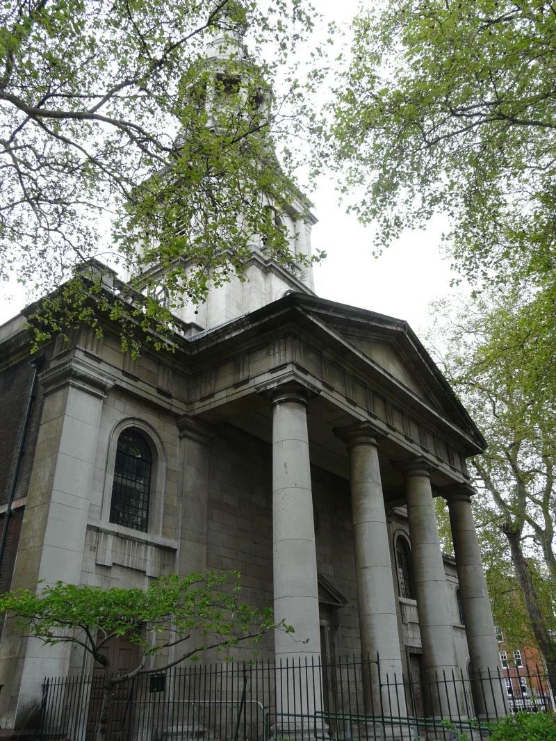 Shoreditch Church: London Borough Of Hackney « London Churches In Photographs