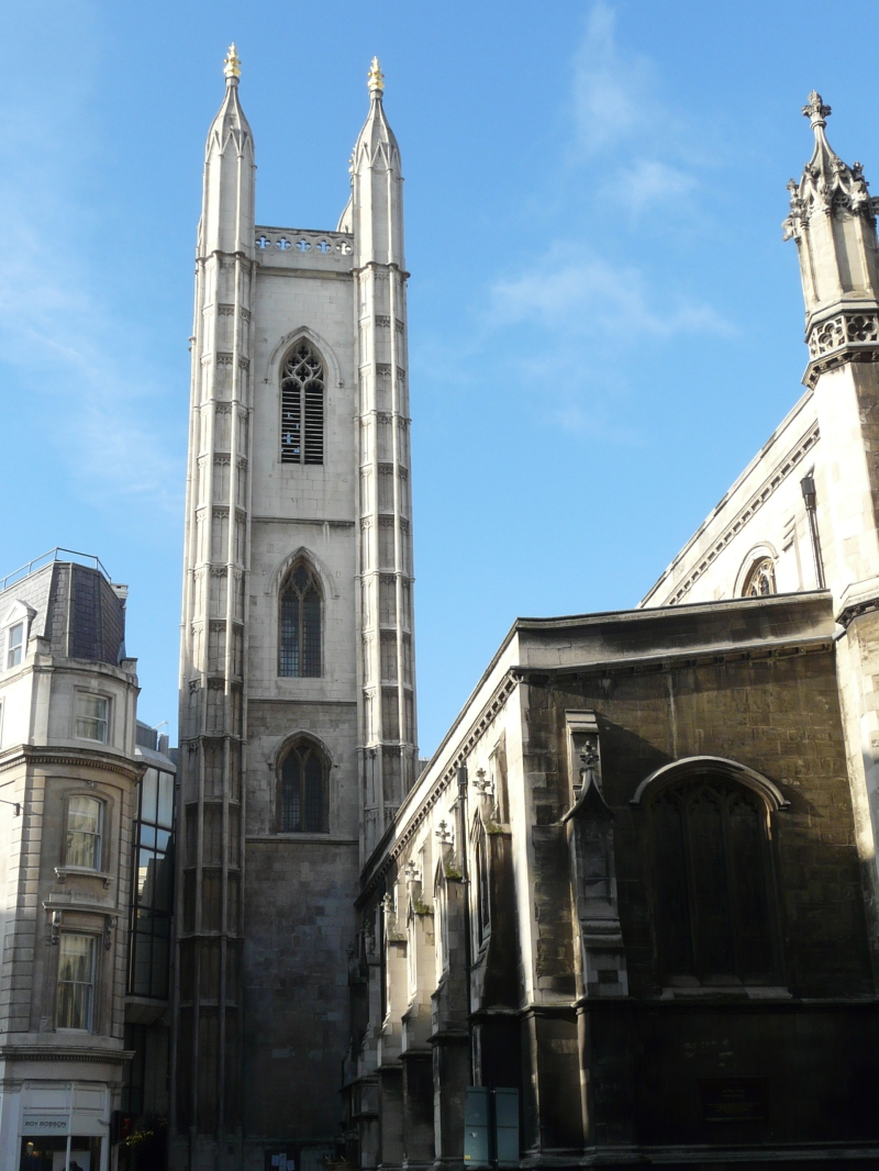 St Mary Aldermary, Cit...