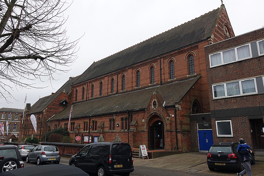West hampstead london churches in photographs for Cafe le jardin bell lane london