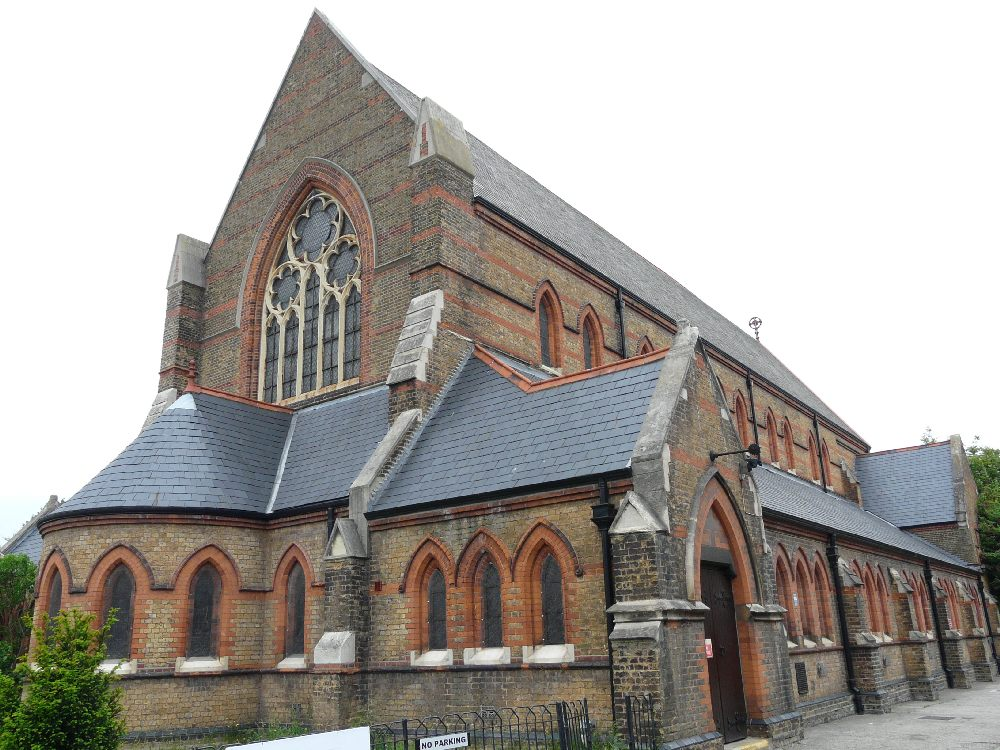 St Peter, Bounces Road, Edmonton | London Churches in photographs