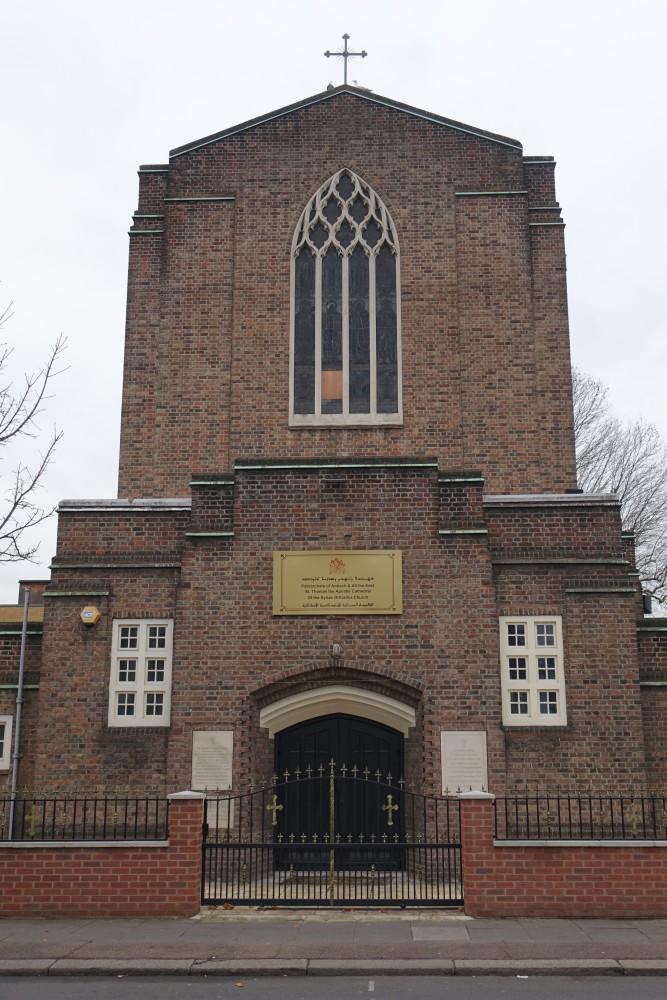 Balham London Tom Howard Gardens: St Thomas Syriac Orthodox Cathedral (formerly St Saviour C