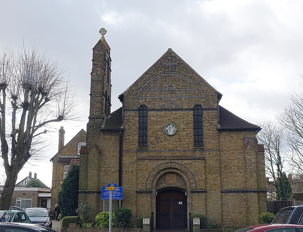 St Peter And St Paul Cranmer Road Mitcham Roman Catholic London Churches In P Ographs