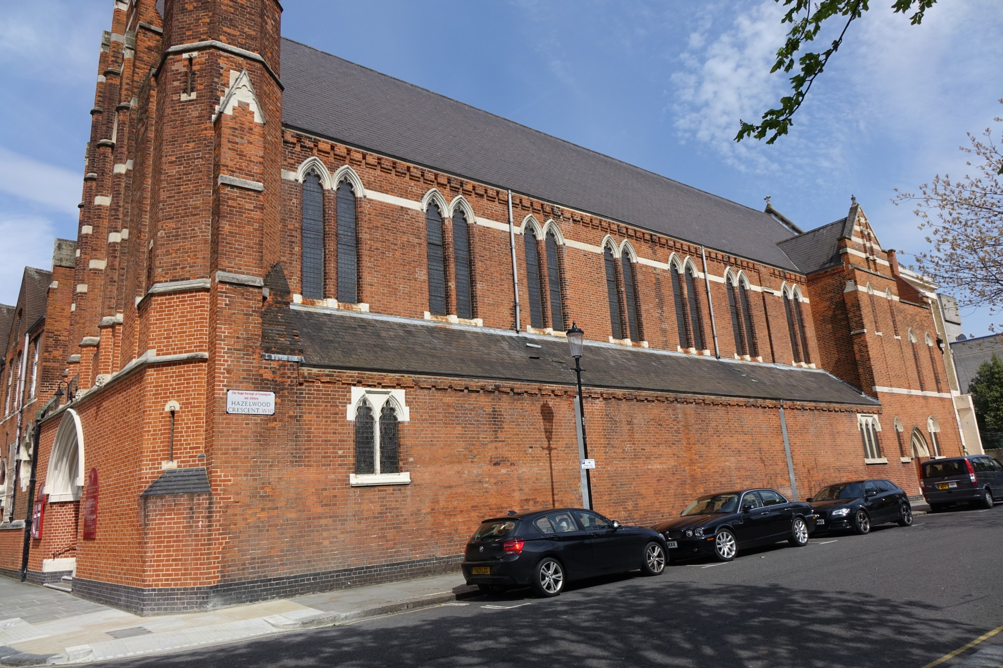 Our Lady Of The Holy Souls Bosworth Road Kensal Town