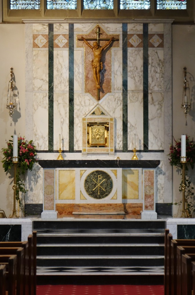 Balham London Tom Howard Gardens: Holy Ghost, Nightingale Square, Balham (Roman Catholic