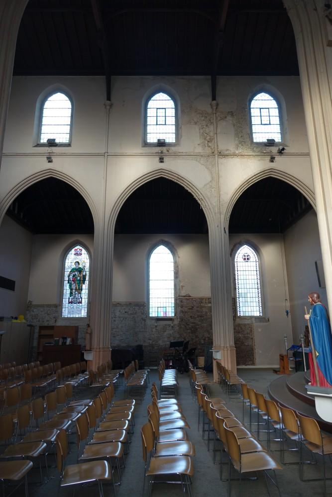 Balham London Tom Howard Gardens: St John, North End Road, Walham Green « London Churches In